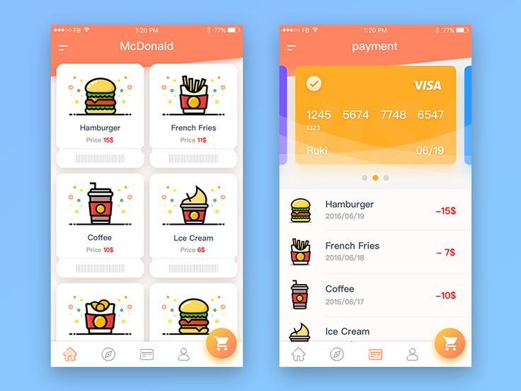 McDonald's order to pay app 02