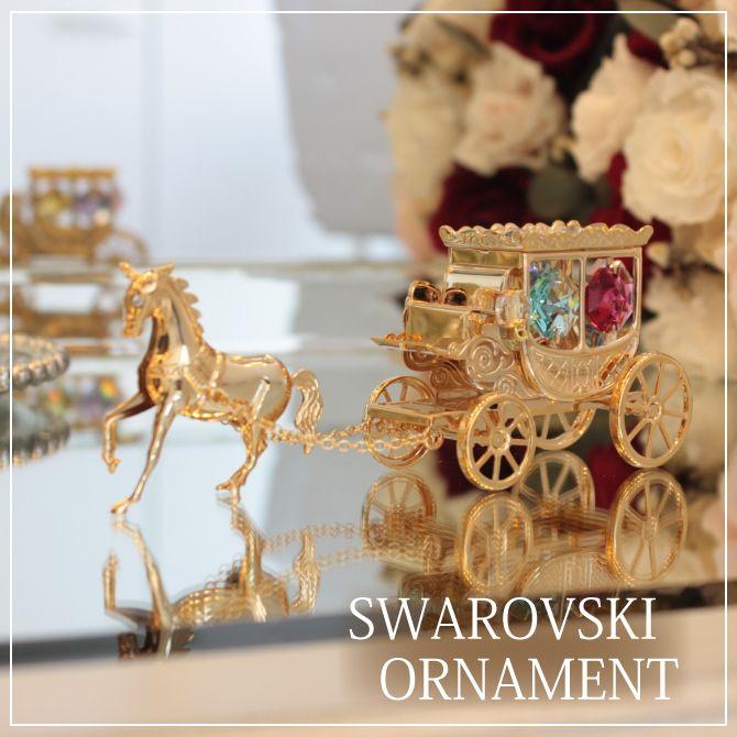 スワロフスキー 木馬