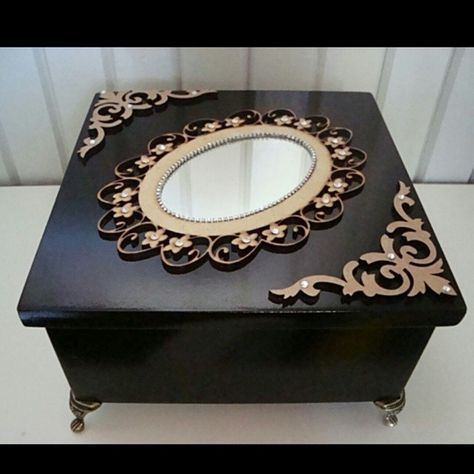 #artesanatoemmdf #artesanato #bomgosto #caixasorganizadoras #caixas #caixasdecoradas #casacomcharme - kantaoartdeco