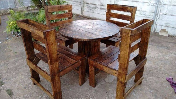 Reciclando Pallets en Pinterest  Muebles, Patio de paleta y Rústico