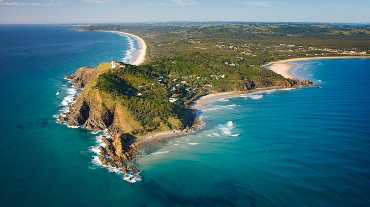 Byron Bay, New South Wales. The most eastern point on the Australian mainland.