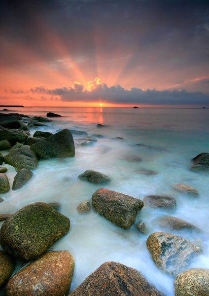 Sennen Cove Sunset 2 - Photography: Cornwall