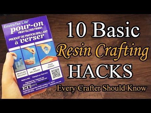 New to Resin? Well if you are these simple and easy hacks will help you achieve super professional looking pieces