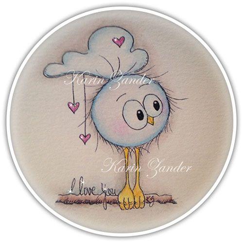 Kajsansscrapblog: .:Brand new Birdie stamps and more:.