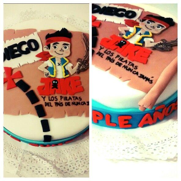 #Jake #Piratas #Romasweetreats #Cake