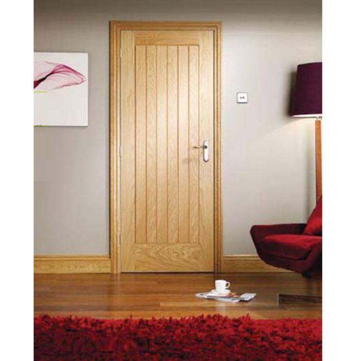 Suffolk Oak Door Fully Finished