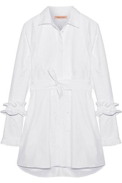Maggie Marilyn | Hold It Together herringbone cotton-jacquard dress | NET-A-PORTER.COM