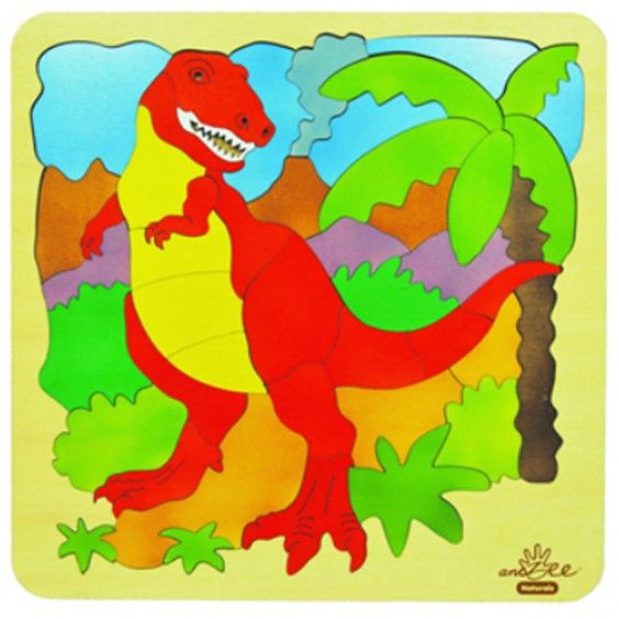 AndZee - Puzzle T-Rex Double Layer - Christmas Catalogue - Our Products - Entropy Australia  #Entropywishlist and #pintowin