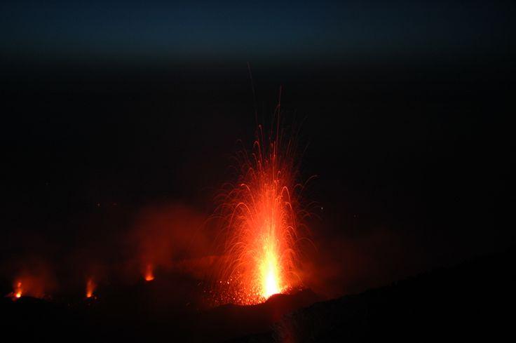 l'Etna explose!