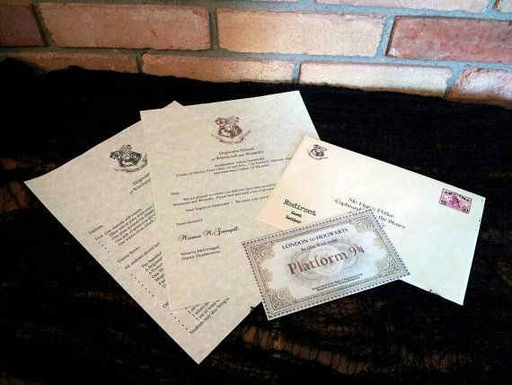 105 best Harry Potter and Hogwarts images on Pinterest Hogwarts - hogwarts acceptance letter