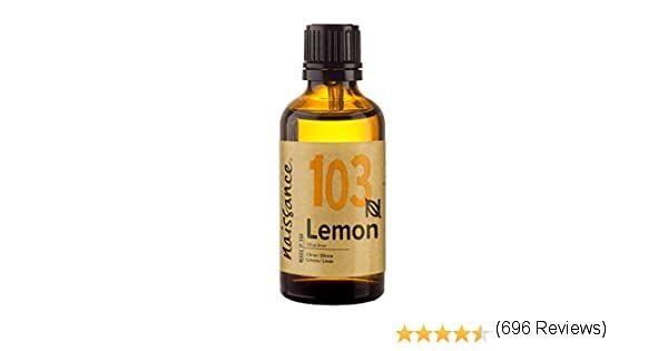 Naissance Aceite Esencial De Limón N º 103 50ml 100 Puro Vegano Y No Ogm Amazon Es Hogar Aceites Esenciales De Limón Aceite Esencial De Lavanda Aceite