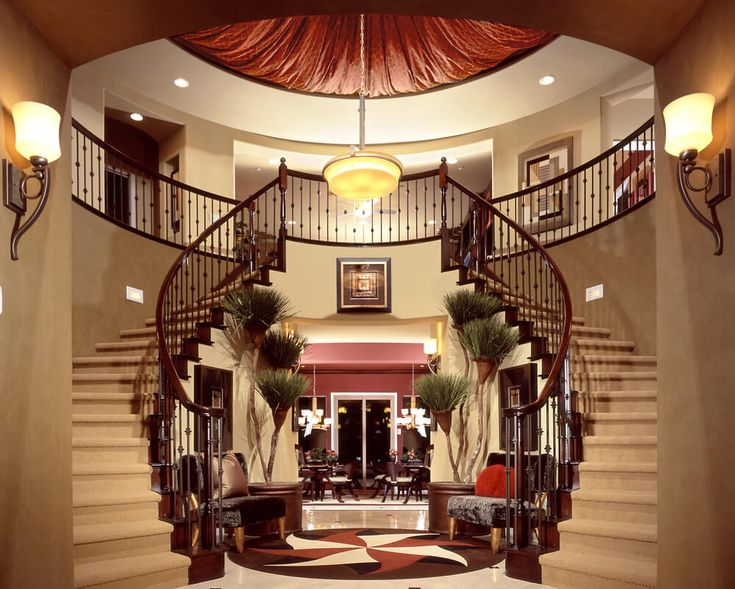 433 best Foyer and Staircase Designs images on Pinterest ...