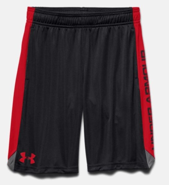 Around here down in the South, all the boys want to wear shorts every day to school. Even if it's below 50 degrees. Pair this with a hoodie and call it good! Under Armour is the choice for boys these days. Sizes 8-20. $24.99 All colors. Buy here.
