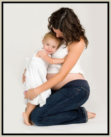 i will have cute second-time-'round maternity pics with my first child