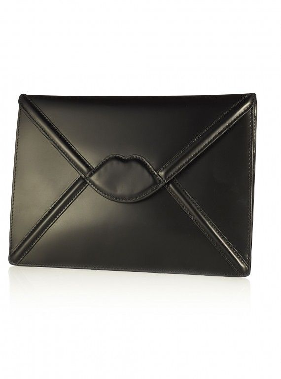 Lulu Guinness at QVC Catherine Envelope Clutch, £188