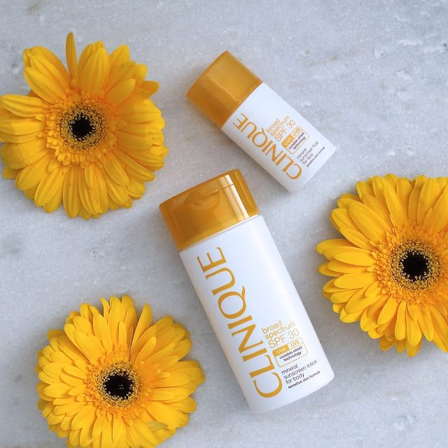 clinique new mineral sunscreen, summer beauty tips from @pursuitofshoes