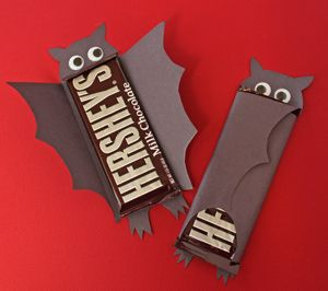Bat Chocolate Bars Halloween Candy