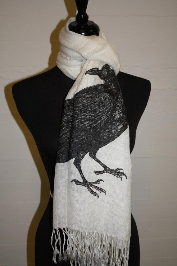 """""""but the Raven still beguiling all my fancy into smiling"""" $42"""