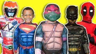 Justice League vs Darth Vader ⎜ Batman v Superman v Deadpool ⎜Vol.1 & Vol. 2 ZZ Kids TV - YouTube