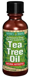Tea Tree Oil It is an all natural topical treatment that can be used to treat acne. It not only kills the acne causing bacteria but it also reduces redness and inflammation.