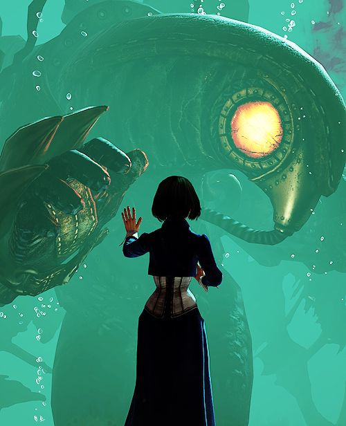 """""""Stop asking what when the delicious question is when. Lives, lived, will live"""", Bioshock Infinite"""