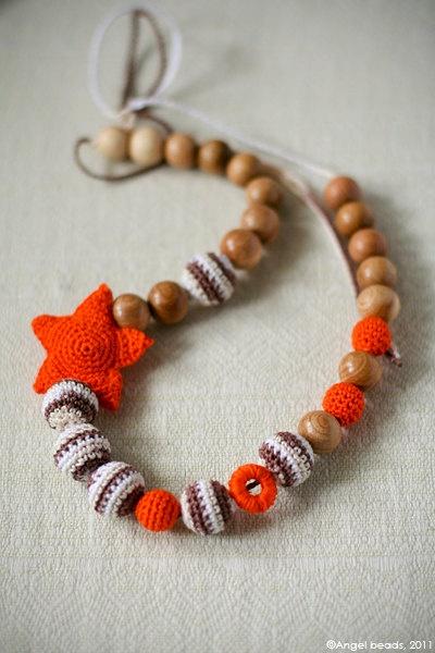 All natural jewelry Nautical Organic Teething by kangarusha
