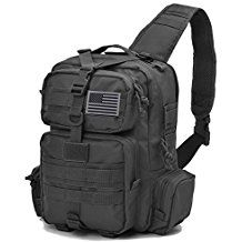 Amazon.com: Tactical Sling Bag Pack Military Rover Shoulder Sling Backpack Molle Assault Ran...