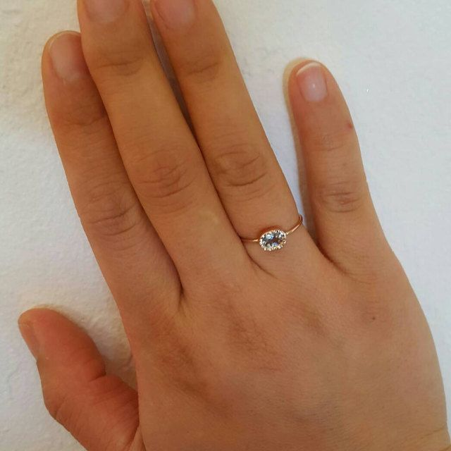 I adored the ring so much! It is beyond beautiful! Thank you for making such a dainty and elegant ring, it will last forever and be hand down to my daughter. Thank you