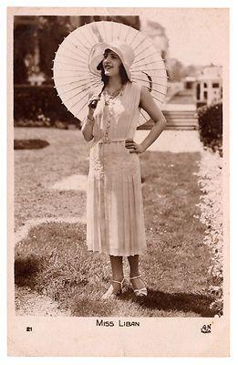 Miss Lebanon 1930 Leila Zoghbi