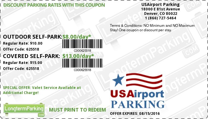 Gmc parking discount coupons