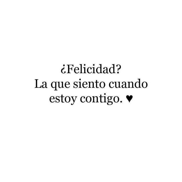 Felicidad...