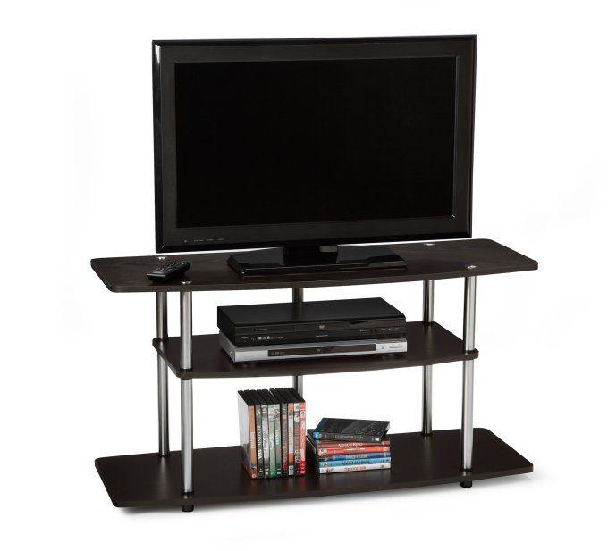 "Convenience Concepts 42"" Wood 3-Tier TV Stand - Espresso / 131031ES R5-140,    #Convenience Concepts Entertainment"