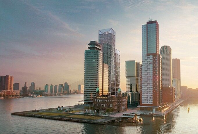 Rotterdam, Wilhelminapier, Hotel New York. #greetingsfromnl