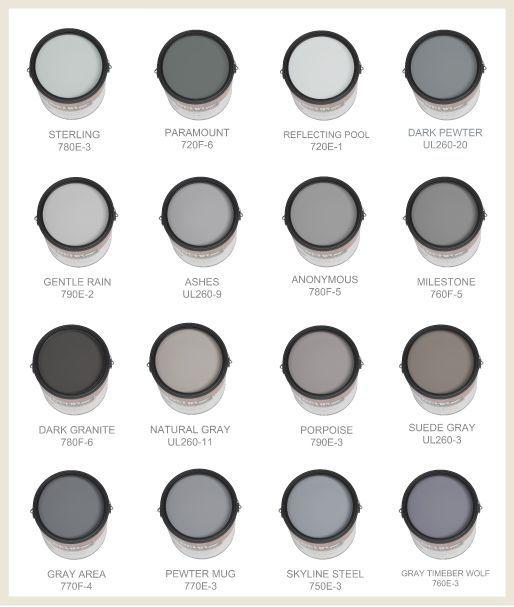Gray Paint Scheme