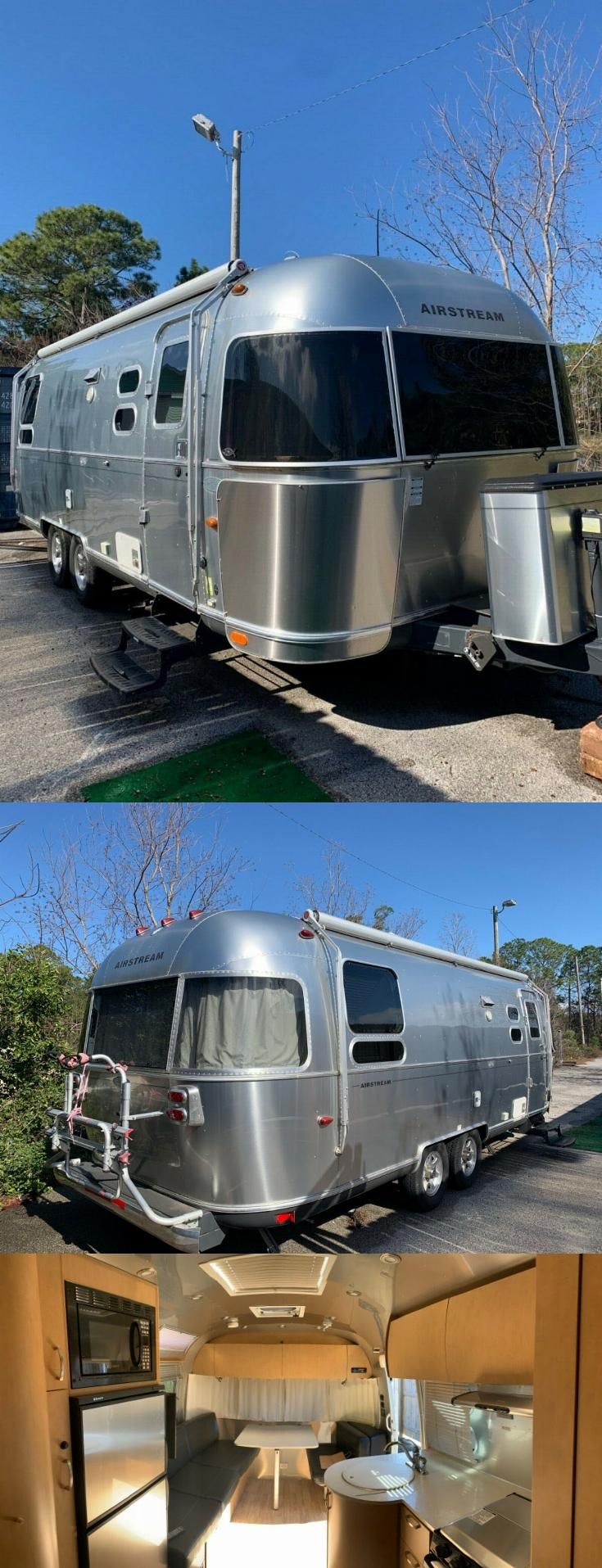 excellent shape 2015 Airstream Flying Cloud camper in 2020