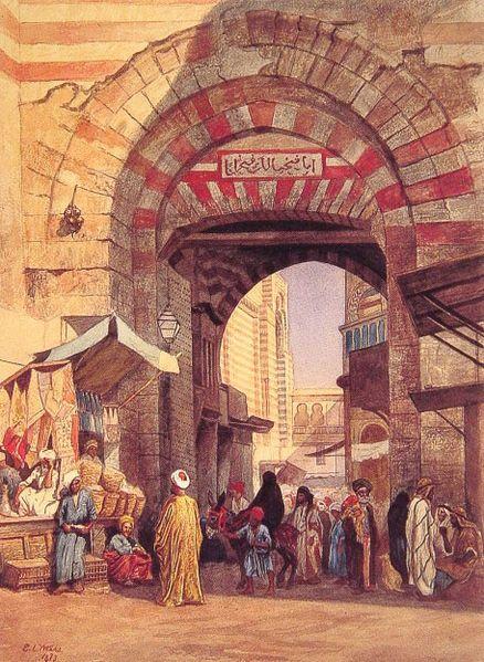 A Moorish Bazaar (a heck of a place to land!)