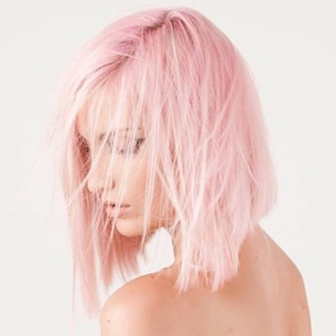 @KirstenMcLennan used #CottonCandyPink and #Pastelizer for this pretty pale color. The beautiful pic was taken by @mariontessierphotography.