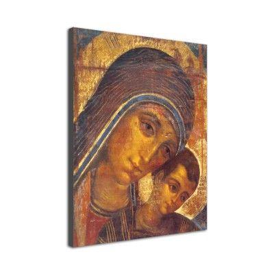 Icono 'Virgen del Camino' (Lienzo)