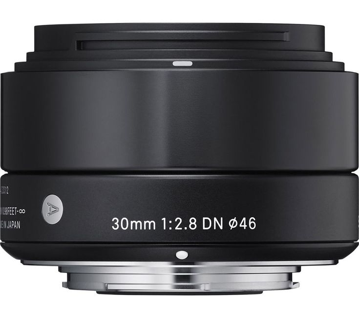 SIGMA  30 mm f/2.8 DN A Standard Prime Lens - for Micro Four Thirds Price: £ 124.00 Great for casual photos or portraits, the Sigma 30 mm f/2.8 DN A Standard Prime Lens is compatible with MFT mirrorless digital cameras, giving you manual and automatic focus control. Sharper snaps You'll be able to achieve clean, high-quality shots with the Sigma 30 mm f/2.8 DN A Lens , featuring seven...