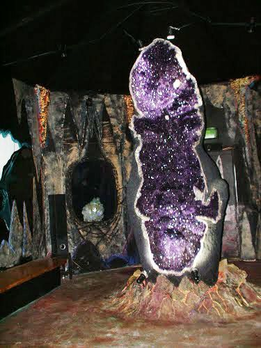 The Three Meter Tall Amethyst Geode A Hollow Rock Filled