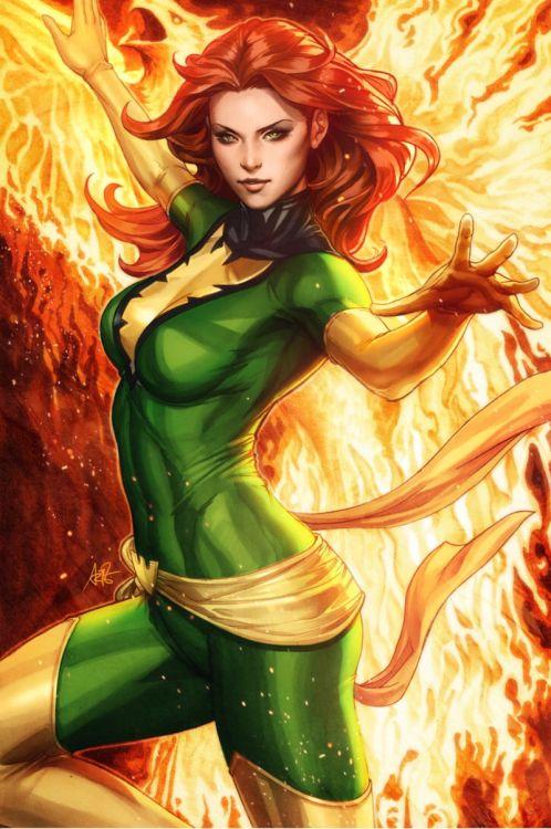 Phoenix Arise Color by Artgerm