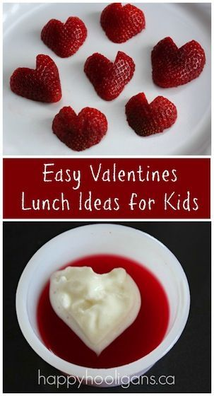 So easy, but so fun and festive for a preschoolers lunch on Valentine's cake.