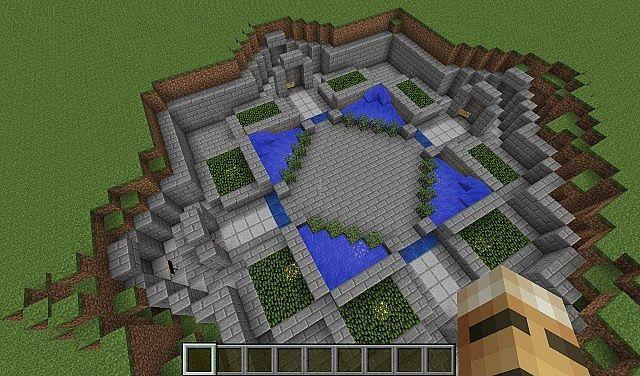 Minecraft Spawn Ideas Minecraft Minigame Server Spawn 2