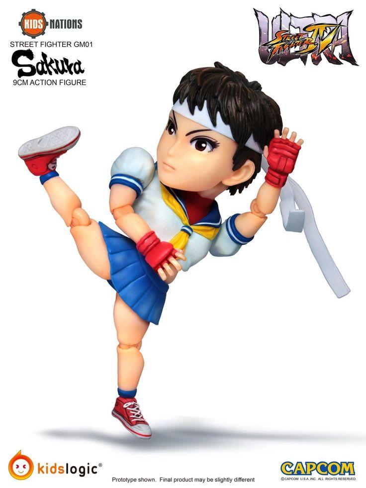 fei long street fighter 5 | Kids Logic Announces Ultra Street Fighter VI – Ryu VS Sakura Action ...