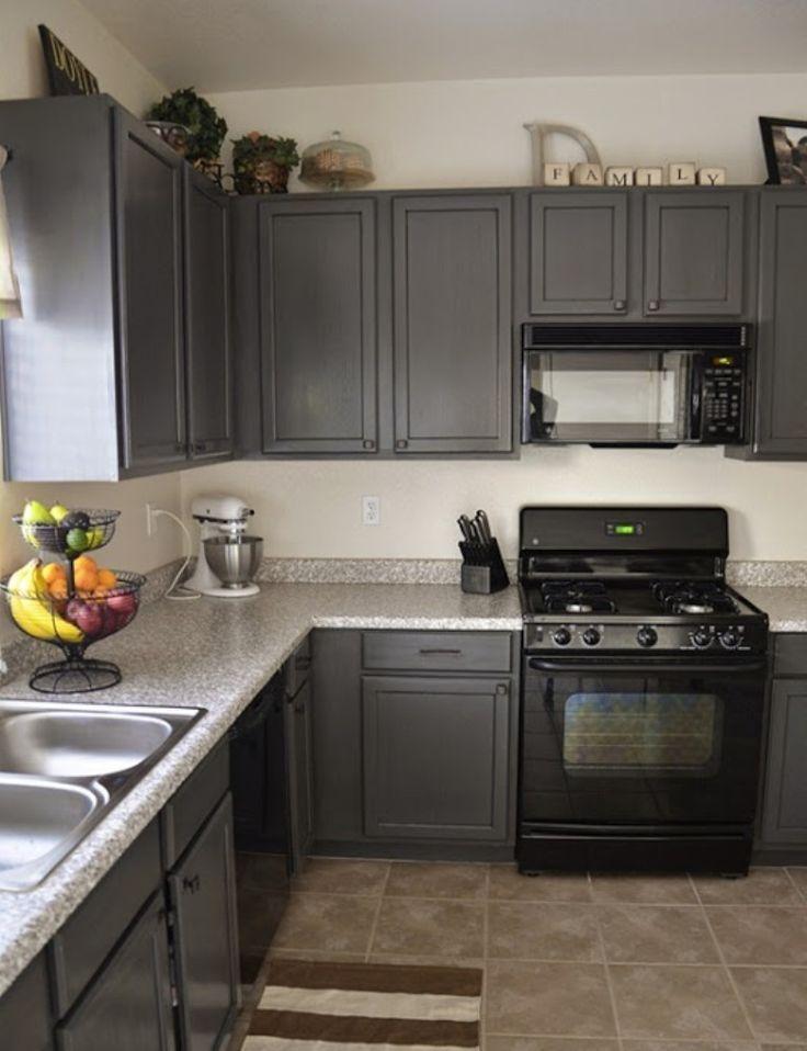 urban kitchen design with minimalist corner charcoal gray kitchen cabinets solid wood on kitchen decor grey cabinets id=11364