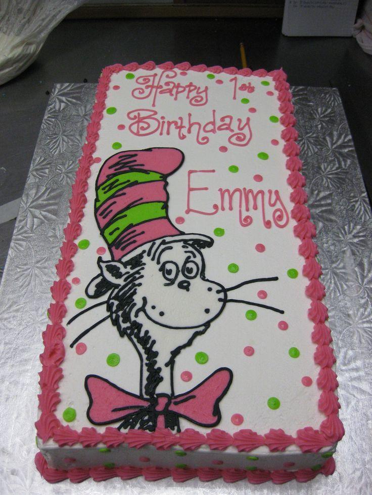 41 best Cat In The Hat images on Pinterest Birthday party ideas