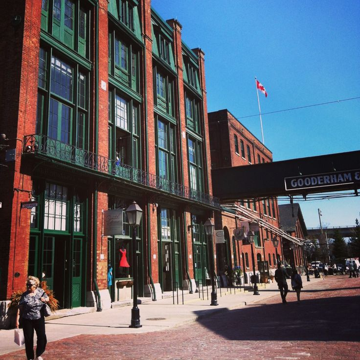 The Distillery District of #Toronto