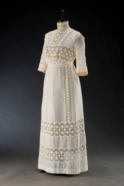 Letní šaty | 1910 | Www.Esbirky.Cz | CC0