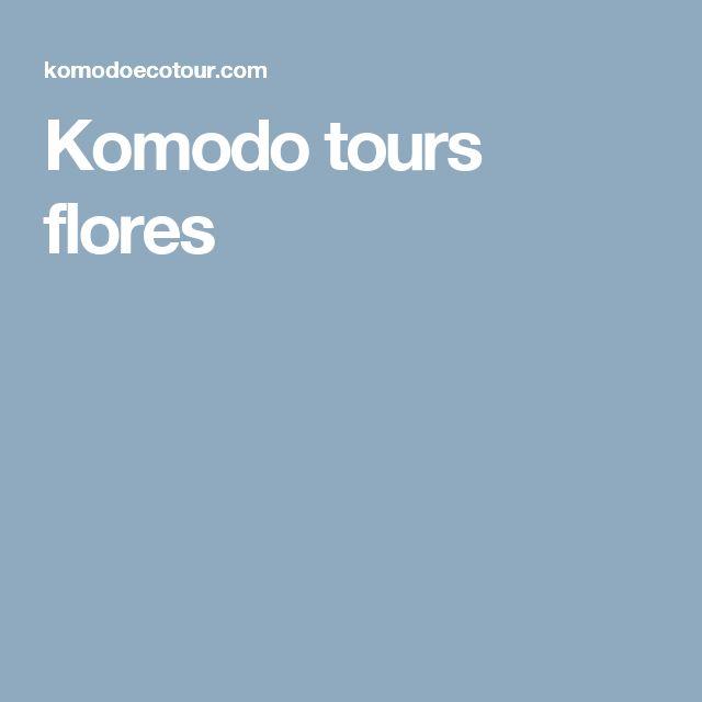 Komodo tours flores