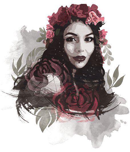 http://ssaraeleni.wixsite.com/saraeleni #photoshop #watercolor #flowers #roses #saraeleni